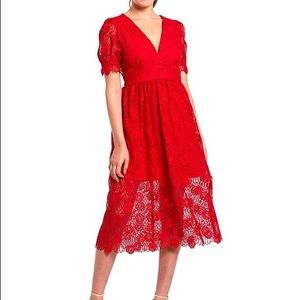 Gianni Binni Gabrielle Lace Dress 0